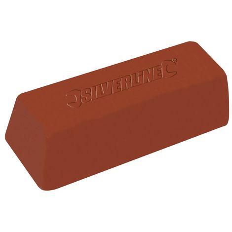 Pâte à polir noire, 500 g Composé grossier, Couleur marron