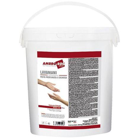Pâte lave mains blanche super concentrée 4000 ml - P310 - Ambro-sol