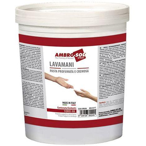 Pâte lave mains blanche super concentrée 900 ml - P311 - Ambro-sol