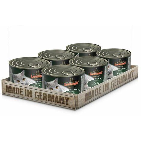 Pâtée Leonardo canard Contenance - lot de 6 boites de 200 g