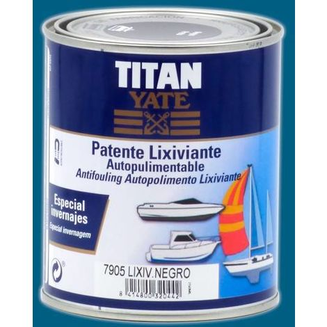 Patente Autopulimentable Lixiviante Titan 4 L