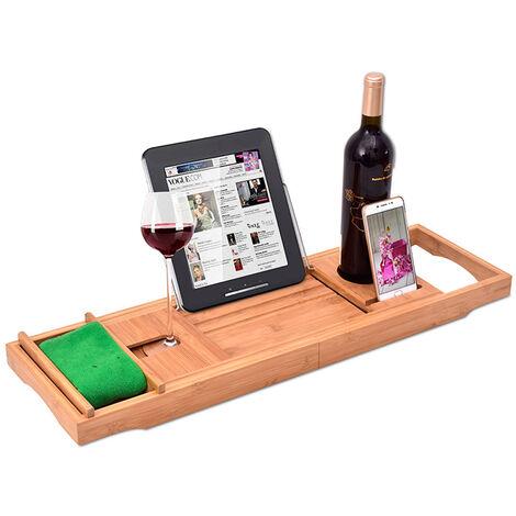Patin de banera, el apoyo a un libro de vino, Slip, ampliable