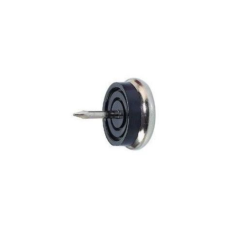 Patin glisseur amortisseur - Diamètre : 30 mm - ITAR