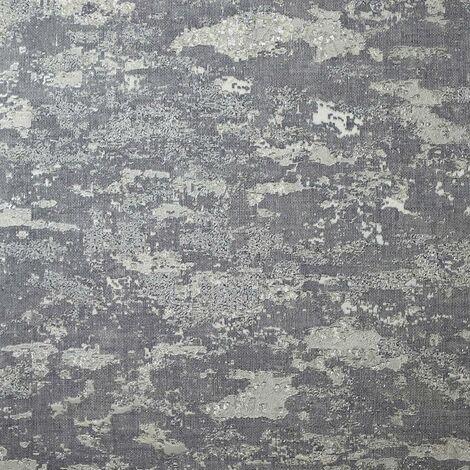 Patina Grey Textured Wallpaper Arthouse Heavyweight Vinyl Glitter Metallic