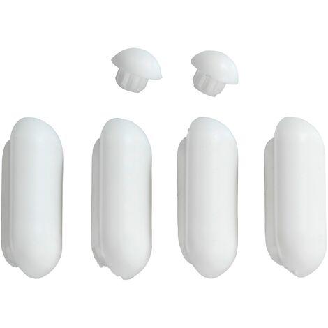 Patins abattants de WC Duroplast acrylique WENKO