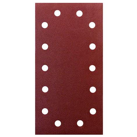 Patins abrasifs 93 x 238 mm Grain 3x60, 3x80 et 3x120 - Lot de 9