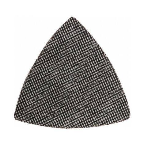 Patins de toile abrasive à mailles pour ponceuses triangulaires Delta, 93 x 93 mm GR 80 KWB