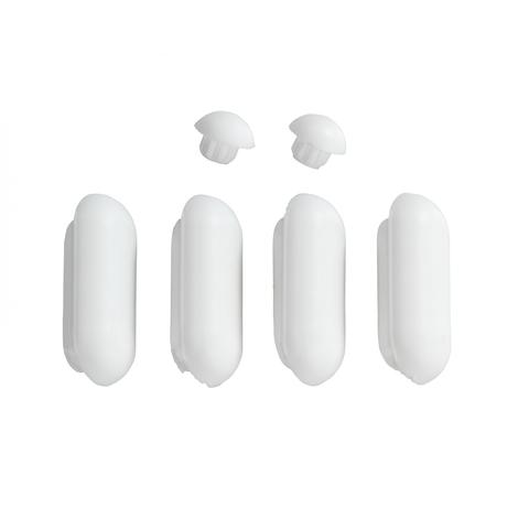 Patins pour abattants de WC Duroplast Acrylique