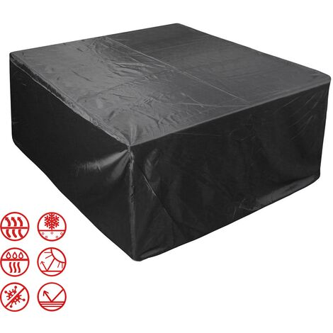 Patio Furniture Covers, Outdoor Furniture Covers Made of 210D Duty Oxford Fabric,Windproof Waterproof, Rain Snow Dust WindProof, Anti-UV, 170*94*70cm