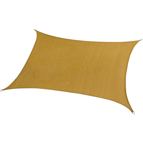 Patio Parasol Canopy, Toldo Top reemplazo Sun cubierta de la cortina, 3,6 * 3,6 m, de color beige