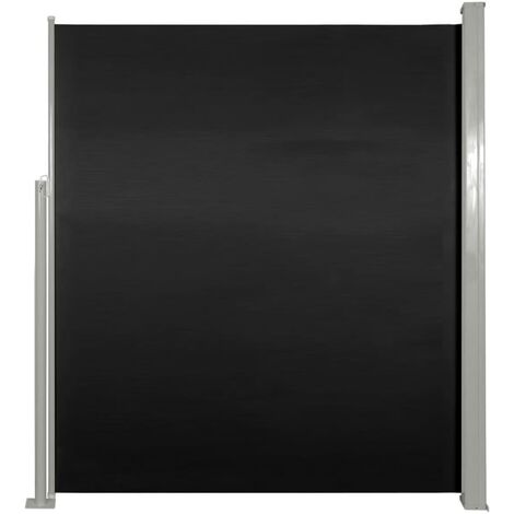 """main image of """"Patio Retractable Side Awning 160 x 300 cm Brown - Brown"""""""