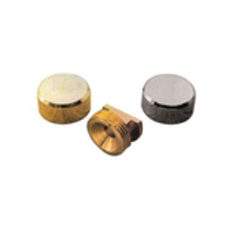 Patte à glace ronde QDRC - laiton - Ø 20 mm - PGPL20S03