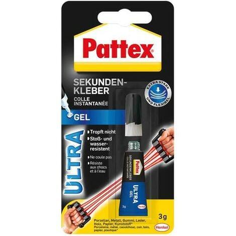 Pattex Cola instantánea Ultra Gel, 3g (por 12)