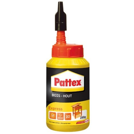 PATTEX - Colle bois - express - 250 g