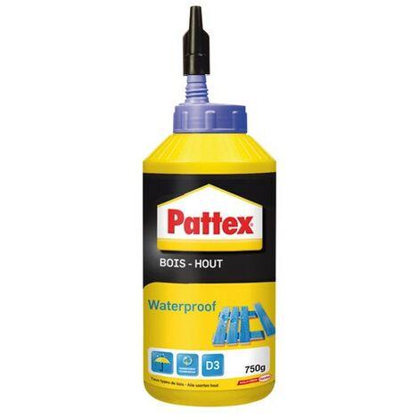 PATTEX - Colle bois - waterproof - 750 g