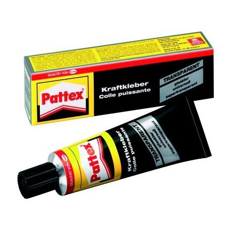 Pattex Colle de contact transparente 50g (Par 12)