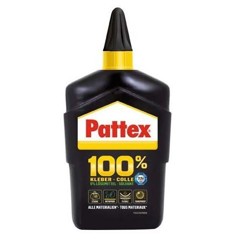 Pattex - Colle transparente sans solvant/sans eau 100 gr (Par 6)