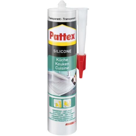 Pattex Küche Silikon Herstellerfarbe Transparent PFKST 300ml C02523