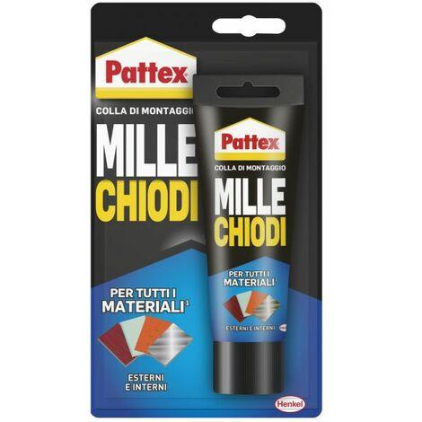Pattex Millechiodi Esterni & Interni adesivo extra forte a presa immediata 100 g