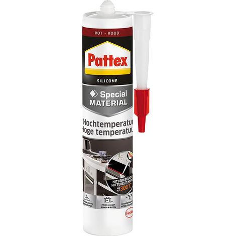 Pattex Ofen+Kamin Silikon300 ml, rot ( Inh.6 Stück )