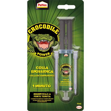 Pattex Pegamento bicomponente Crocodile translúcido 11 Ml