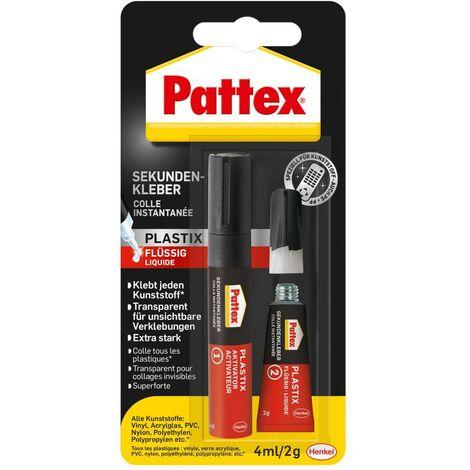 Pattex Sekundenkleber Plastix 4 ml/ 2 g