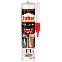 Pattex Silicone cheminée 300 ml, rouge (Par 6)