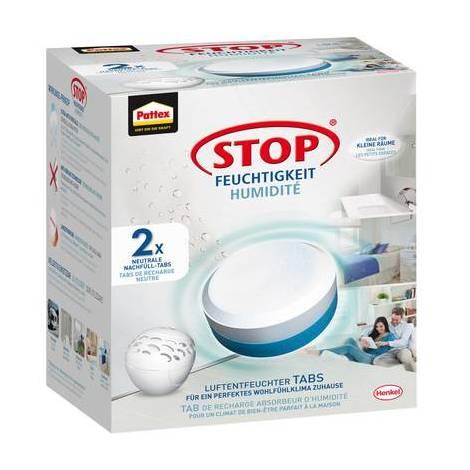 Pattex Stop Pearl Tablettes de recharge pour déshumidificateur 30 m³