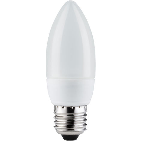 Paulmann 891.17 Energiesparlampe Kerze 7W E27 Warmweiß