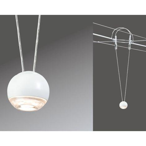 Paulmann 941.03 Air LED Ball Erweiterung Pendel 5W Weiss Warmweiss Seilsystem 94103