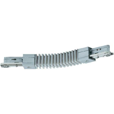 968.88 Paulmann URail Stromschiene Flex Verbinder Chrom matt 230V Schienensystem