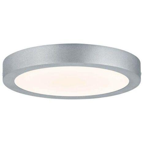 Deckenleuchte chrom Kunststoff Acryl LED Wohnzimmer Warmweiß