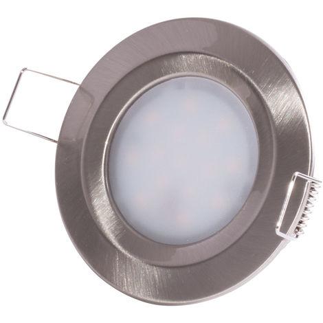 Paulmann Einbauleuchte LED Slim Coin, rund 6,8W, dimmbar, starr, IP44 Spritzwasserschutz