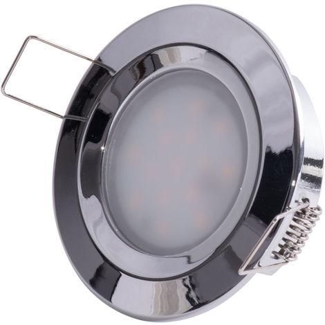 Paulmann Einbauleuchte LED Slim Coin, rund 6,8W, IP44 Spritzwasserschutz