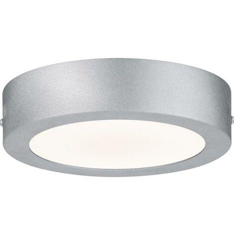 PAULMANN PLAFONNIER LED-PANEL LUNAR 1 AMPOULE 17 W 230 V BLANC MAT 70642 EN ALUMINIUM