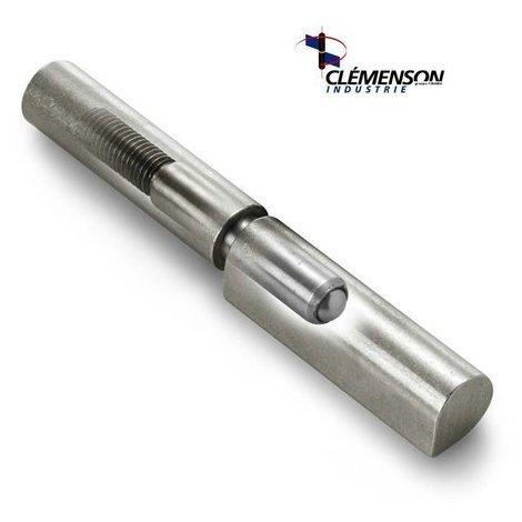 Paumelle à souder à bille SOUDAROC TORBEL - Réglable - 140 mm - SREG140