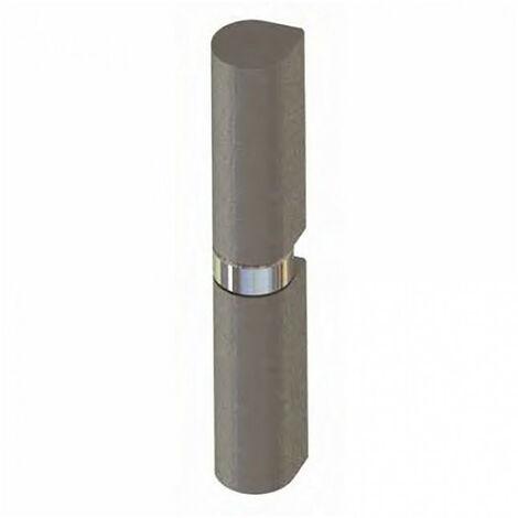 Paumelle à souder butée à bille nœud plat acier (boîte) - plusieurs modèles disponibles