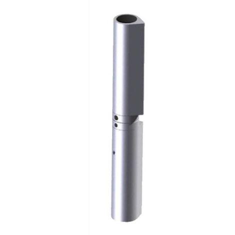 Paumelle à souder menuiserie métallique, réglable dans les 3 dimensions, type Soudaroc 180 mm