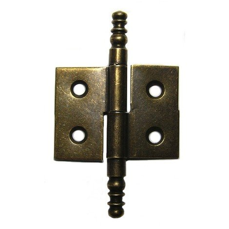 Paumelle à vase acier Strauss Vonderweidt - Droite - Hauteur 30 mm - Largeur 40 mm - Vendu par 2