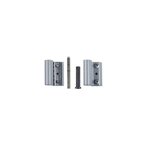 Paumelle Grip+ FAPIM avec axe en acier inox Ø7 mm - Argent G6 - 9800A_G6