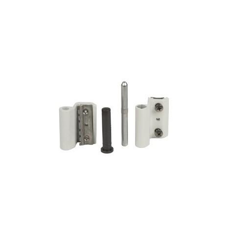 Paumelle Grip+ FAPIM avec axe en acier inox Ø7 mm - Blanc 9010 - 9800A_32
