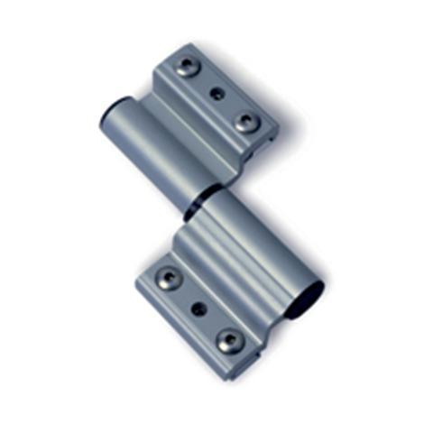 Paumelle porte lourde alu FAPIM - gris ral 9006 - pour jeu de 17 - 5681/G5