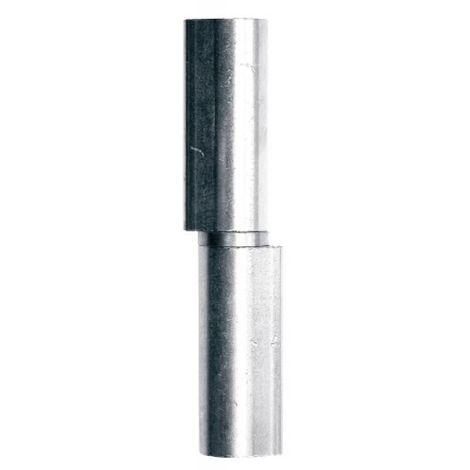Paumelles à souder - nœuds plats Référence Maroc® acier inox bague inox 100 mm