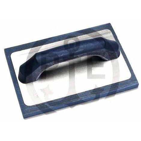 Pavan Frattone in Gomma blu 215 x 142 x 15 Mm gomma a Cellula Medio/fine con Manico Verniciato