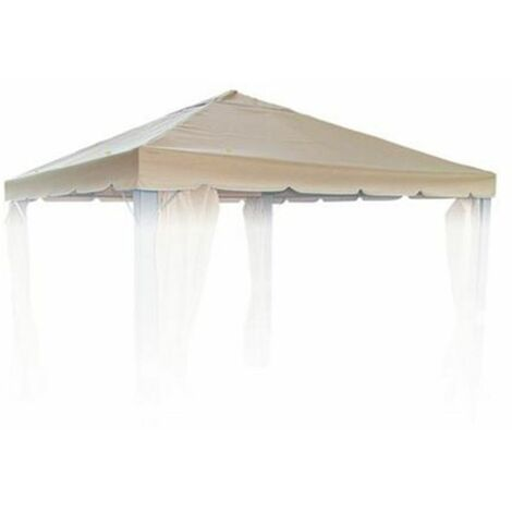 Pavillion Ersatzdach Khaki für 3x3 Pavillon Pavillondach Partyzelt Dachplane