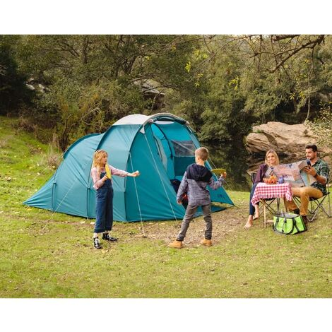 Pavillo Tent Family Dome 4 Blue - Blue