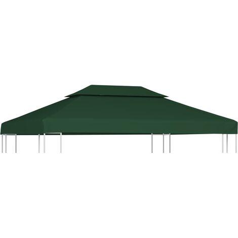 wasserdicht Pavillondach Dach 3x4 PVC Ersatzdach für Pavillon 4x3 anthrazit
