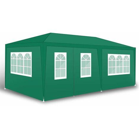 "main image of ""Pavillon Partyzelt Gartenzelt Gartenpavillon Camping Festzelt Seitenwände"""