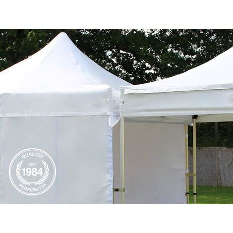 Pavillon Verbindungsset PROFIZELT24 Set für 5m Pavillons - 40mm - feuersicher in weiß Faltzelt Faltpavillon