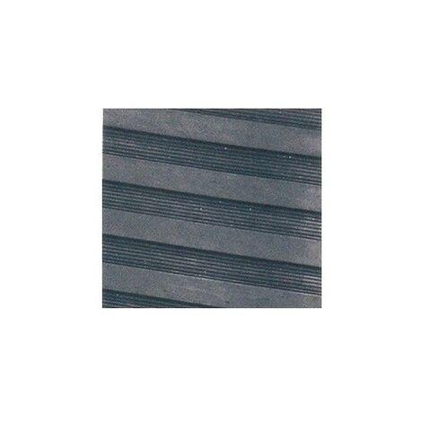 Pavimento de caucho rayado por metros 150 cm ancho